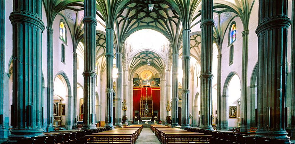 Interior of cathedral, Las Palmas de Gran Canaria, Gran Canaria, Canary Islands, Spain - 817-140629