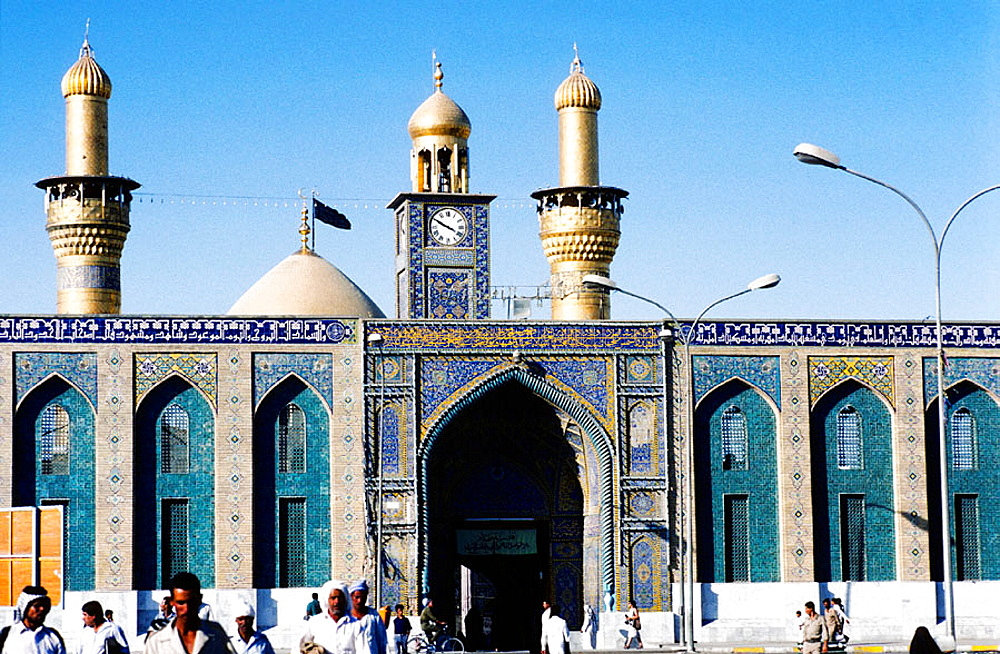 Imam al-Hussein Mosque, Karbala, the Shiite holy city, Iraq