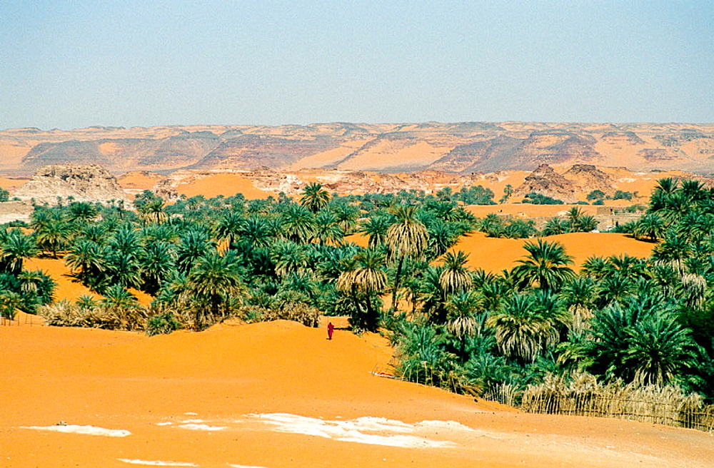 Ounianga Kebir Region, Ennedi Massif, Sahara Desert, Chad
