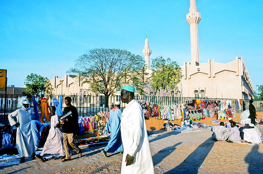 Mosque, N'Djamena, Chad