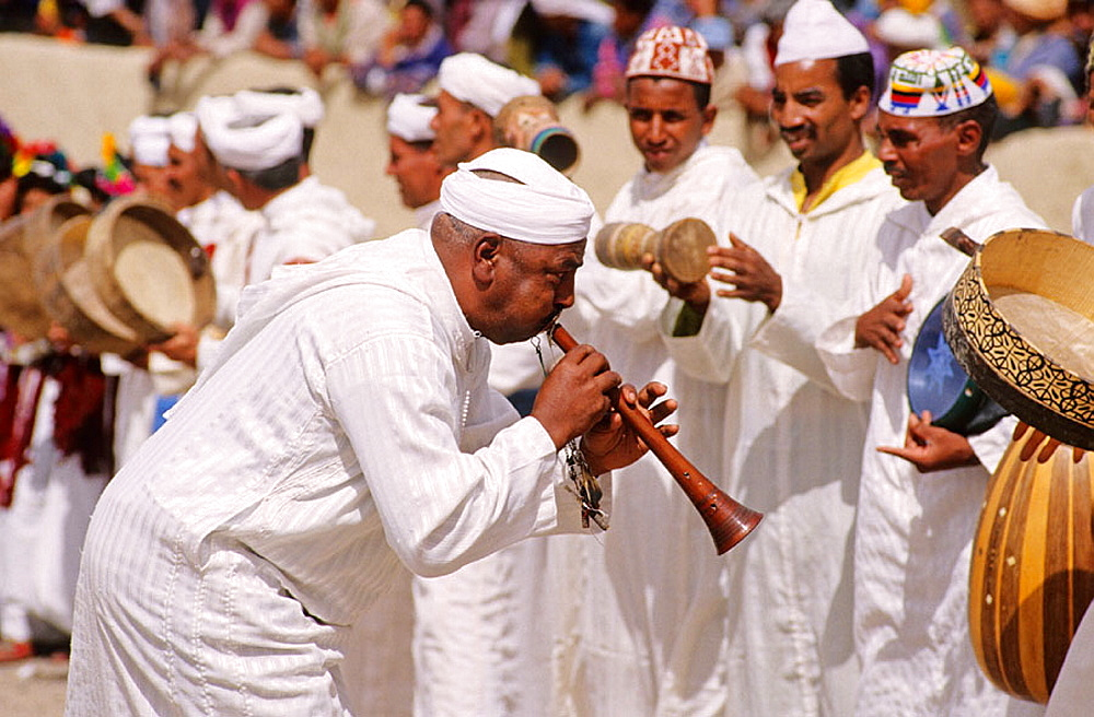 Ait Adidou Tribe, Imilchil Wedding (Moussem), Berbere culture in north africa, High Atlas, Province of Errachidia, Morocco, Africa