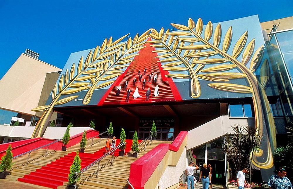 Festivals and Convention center (Palais des Festivals), City of Cannes, Alpes-Maritimes, France