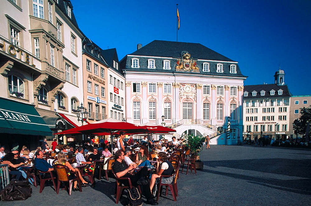 Market Square and Town Hall, Bonn, Germany