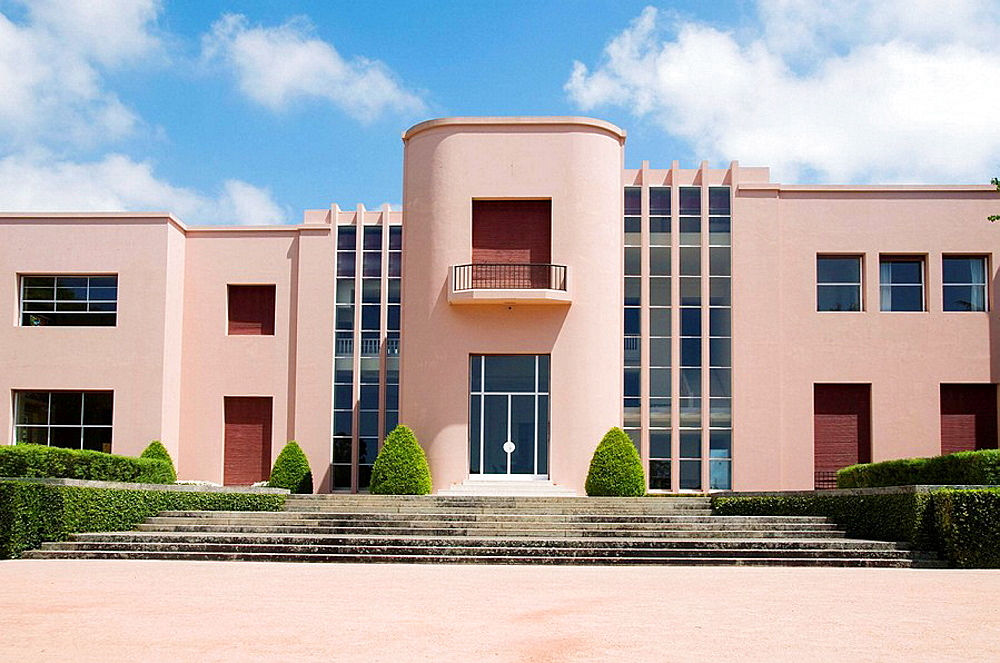 Casa de Serralves, art deco building, Serralves Foundation, Porto, Portugal