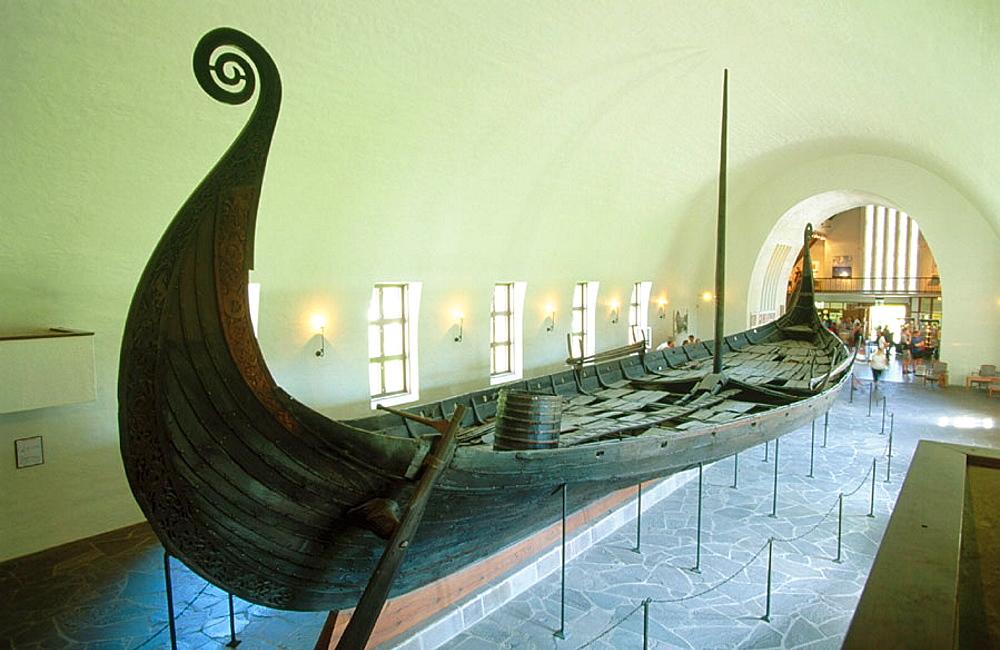 Vikingskipshuset (Viking Ship Museum) in Oslo, Norway