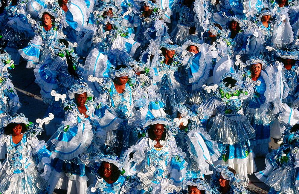 Beija Flor samba group, carnival, Rio de Janeiro, Brazil - 817-144870