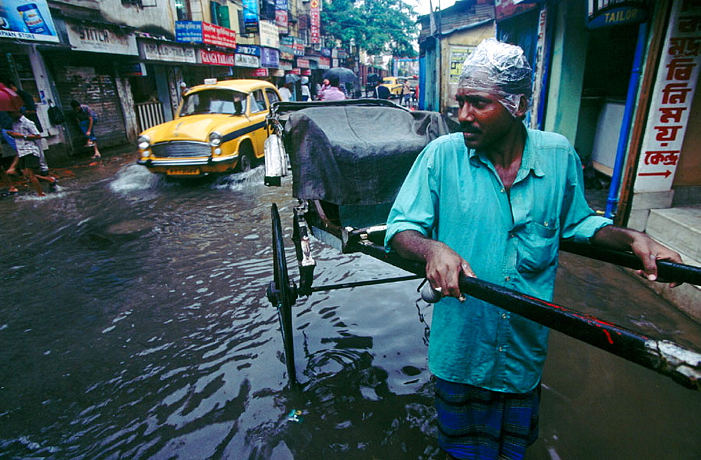 Monsoon in Calcutta, West Bengal, India - 817-144956