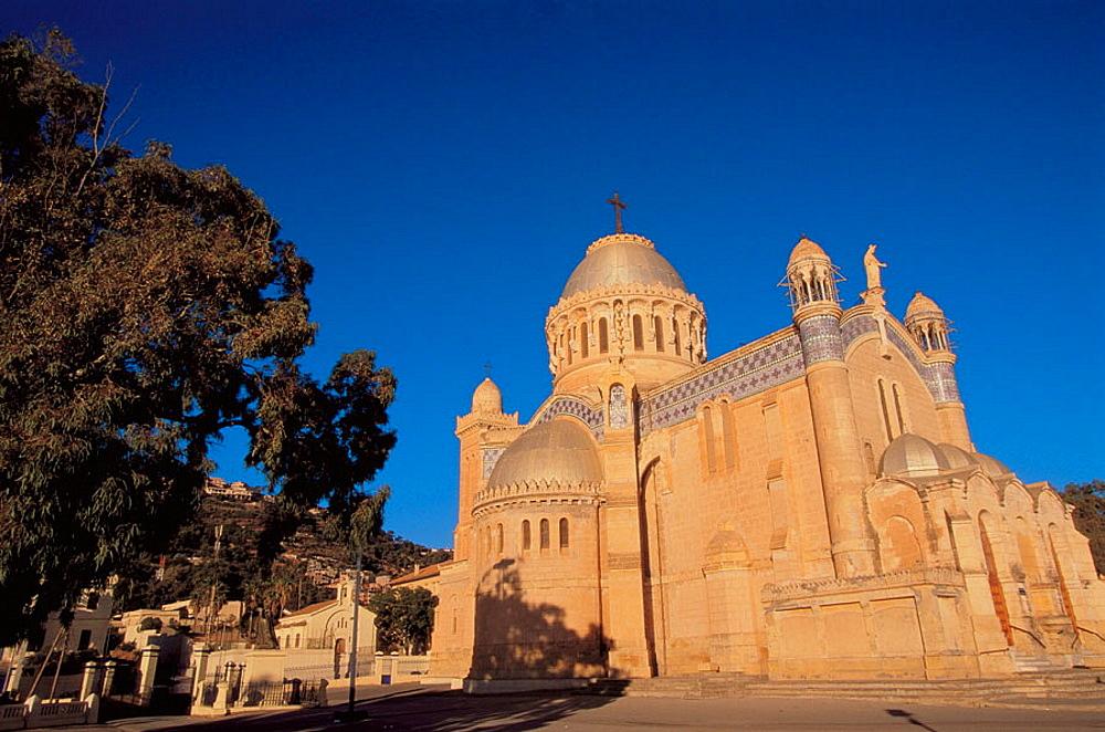 Roman Catholic cathedral of Notre Dame d'Afrique, Algiers, Algeria