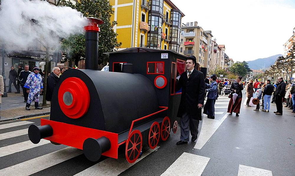 Carnival, Tolosa, Guipuzcoa, Euskadi, Spain
