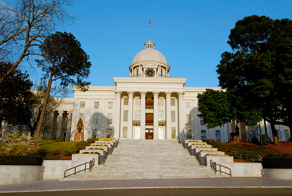 Historic State Capitol building, Montgomery, Alabama, USA