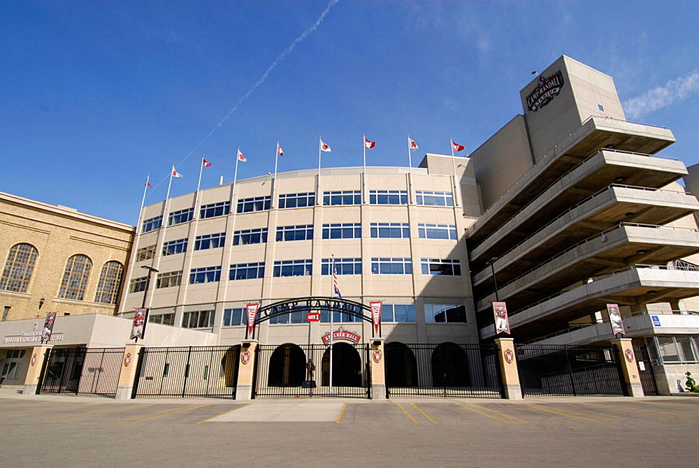 Camp Randall Football Stadium at the University of Wisconsin Badgers at Madison Wisconsin, USA