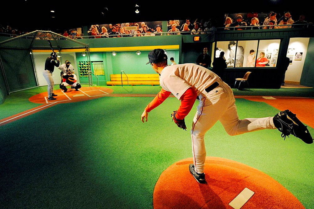 Louisville Slugger Baseball factory and Hillerich Bradsy museum at Louisville Kentucky KY