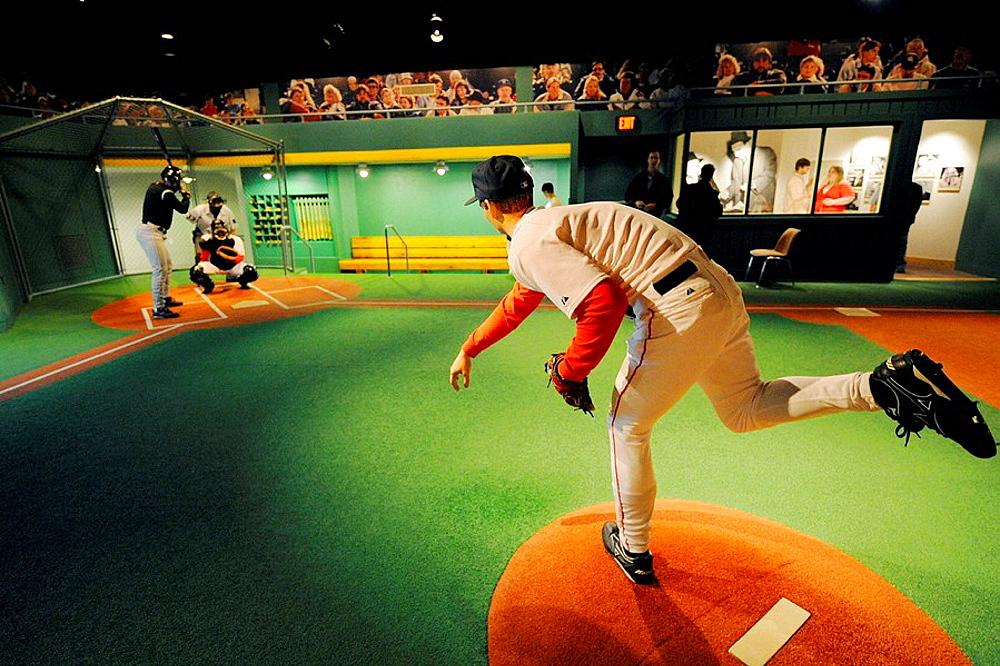 Louisville Slugger Baseball factory and Hillerich Bradsy museum at Louisville Kentucky KY