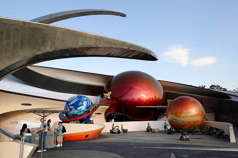 Mission Space at Walt Disney World Epcot Theme Park Center Orlando Florida Central