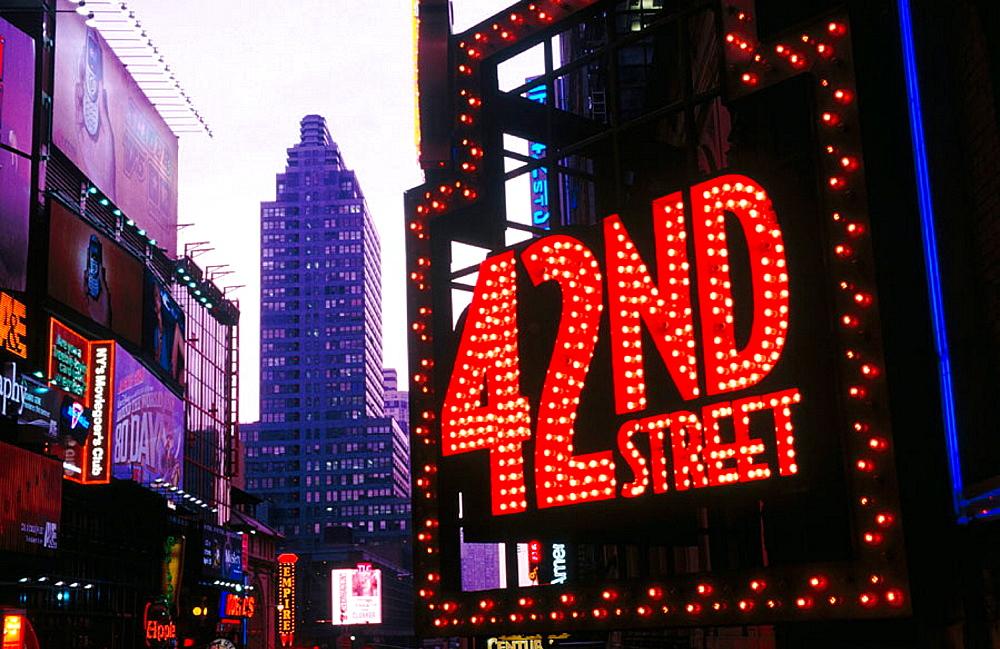 42nd Street, New York City, USA - 817-151781