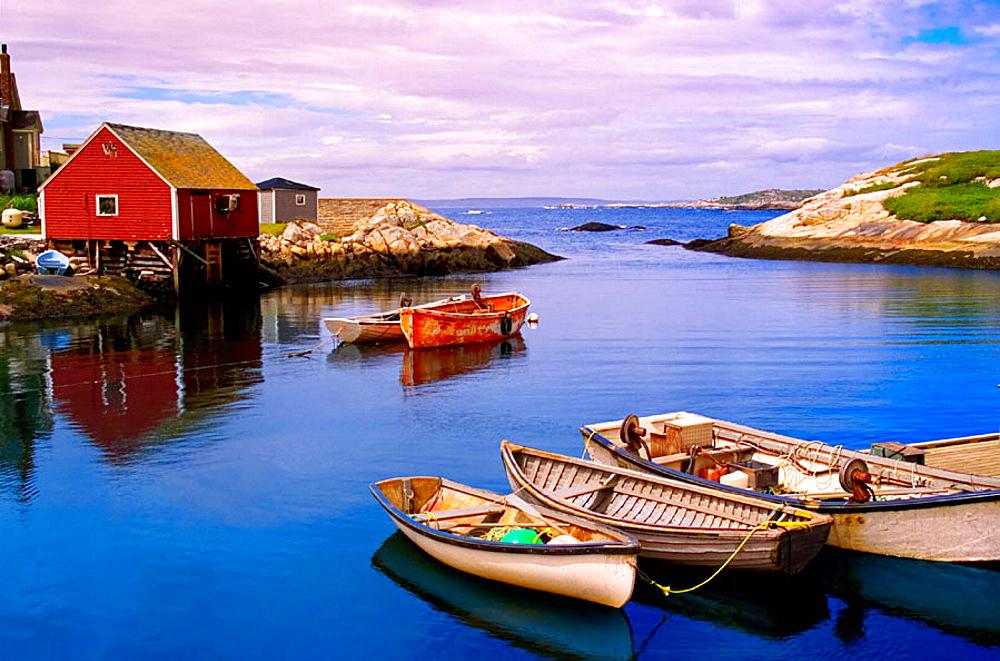 Peggys Cove, St, Margarets Bay, Halifax Regional Municipality, Nova Scotia, Canada