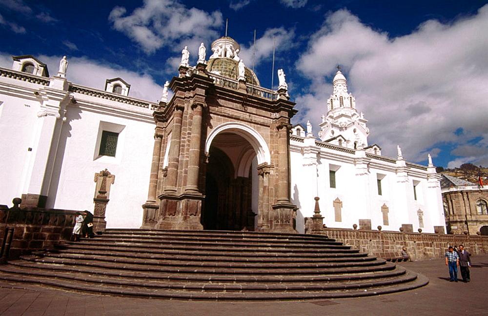 Plaza de la Independencia and Cathedral, Quito, Ecuador