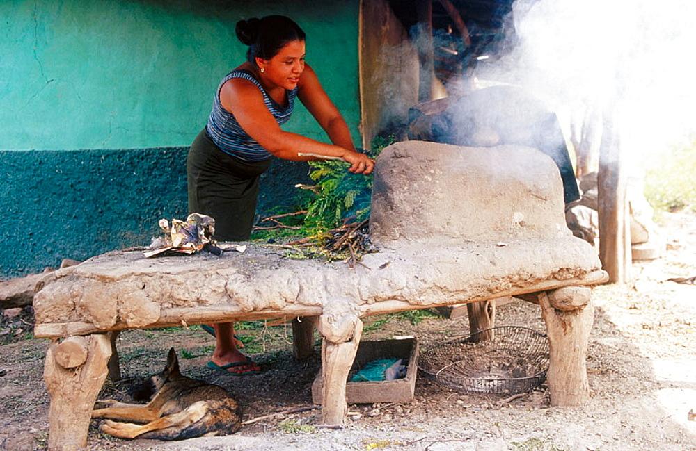 Oven in La Arada, Honduras