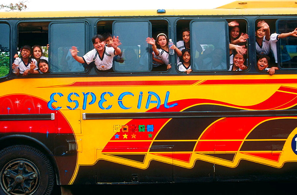 School bus from Guayaquil, Guayas province, Ecuador