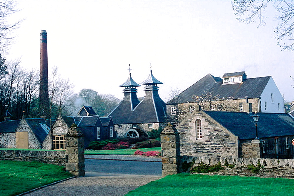 Strathisla whisky distillery, Keith, Scotland, UK