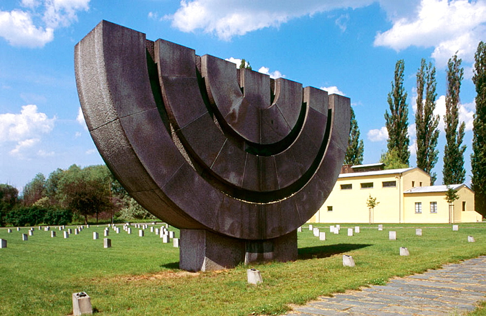 Memorial crematorium, Terezin, Czech Republic