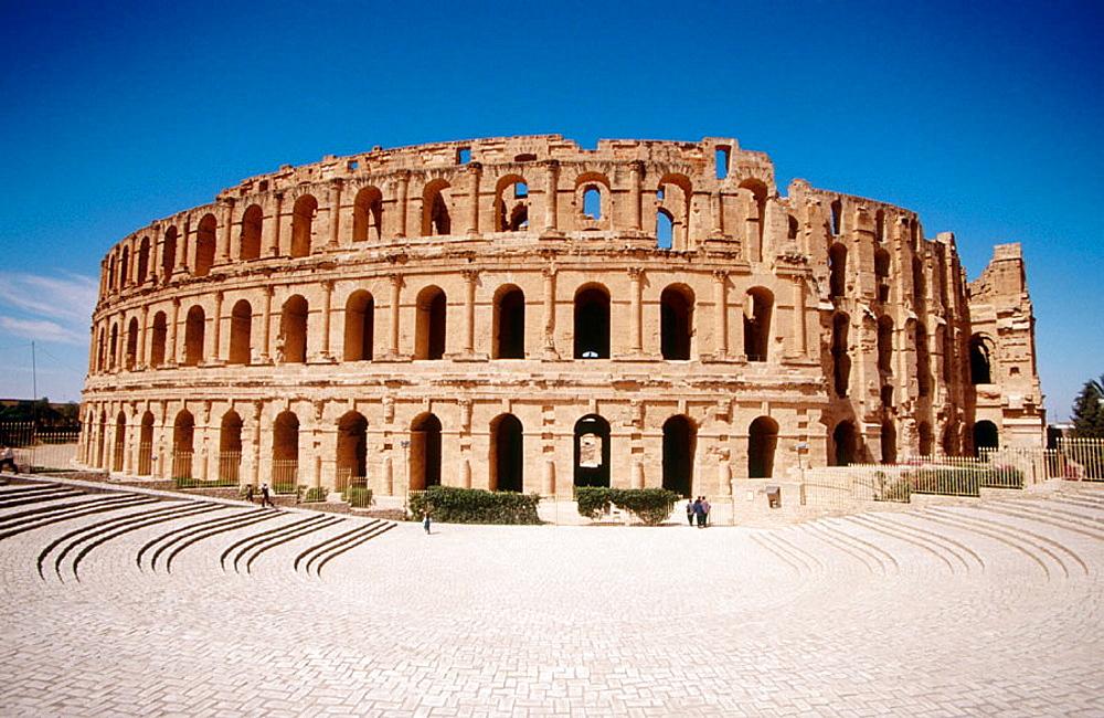 Roman colosseum, El-Djem, Tunisia