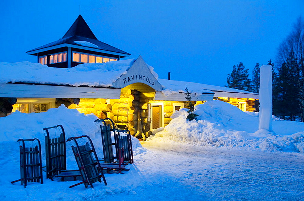 Hotel Kakslauttanen, Lapland, Ivalo, Finlandia - 817-16173