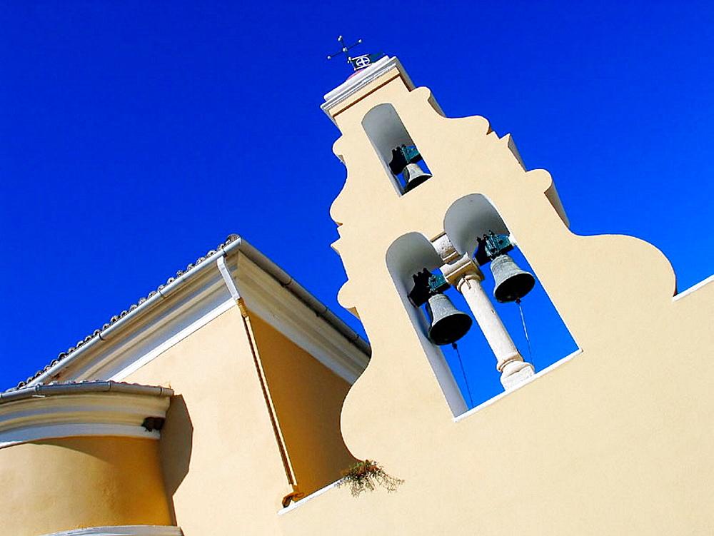 The Monastery of Paleocastriza, Corfu, Greece.