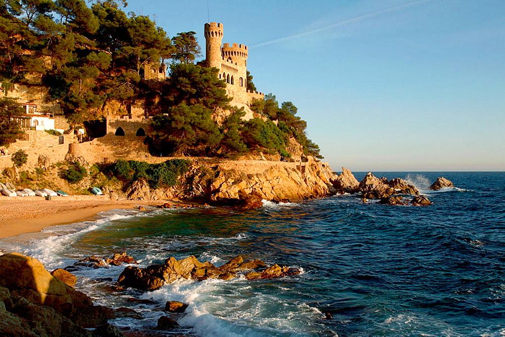 Lloret de Mar, Costa Brava, La Selva, Girona province, Spain