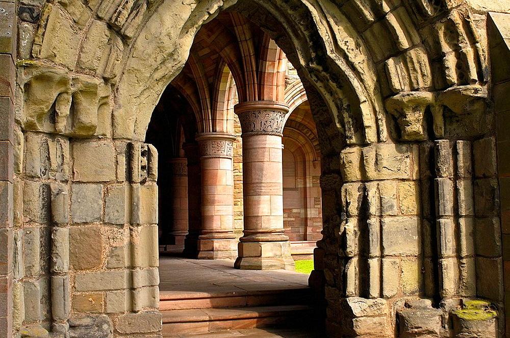 Kelso Abbey, Scottish Borders, Scotland, UK