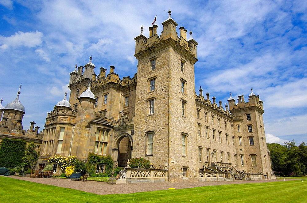 Floors Castle, Kelso, Scottish Borders, Scotland, U.k.