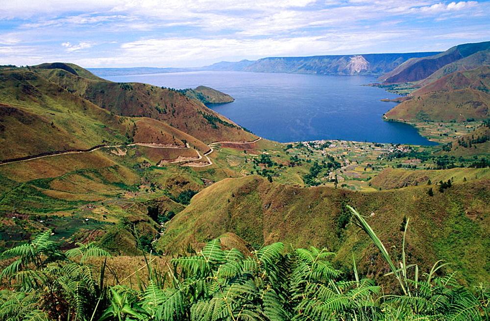 Toba lake, Sumatra, Indonesia.