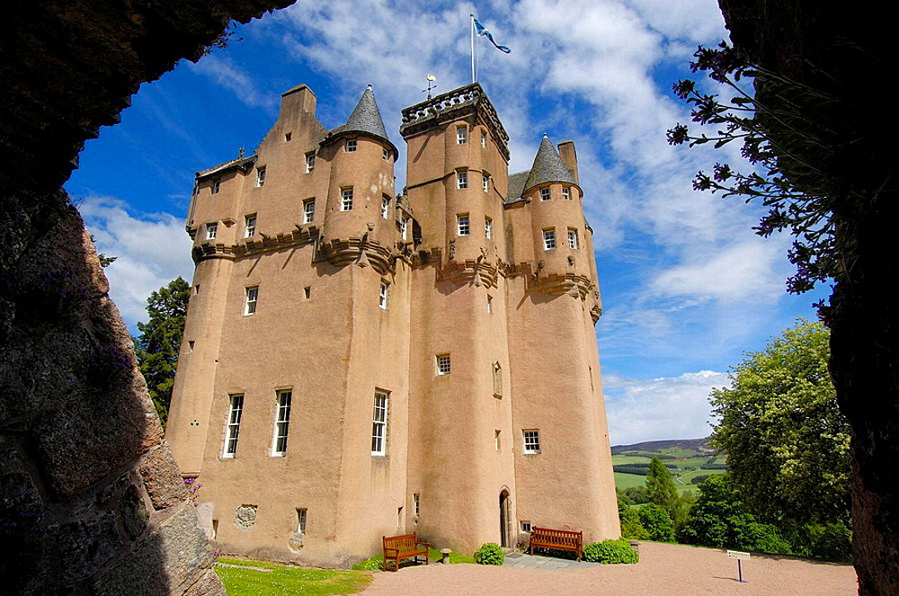 Craigievar Castle, Aberdeenshire, Scotland, UK
