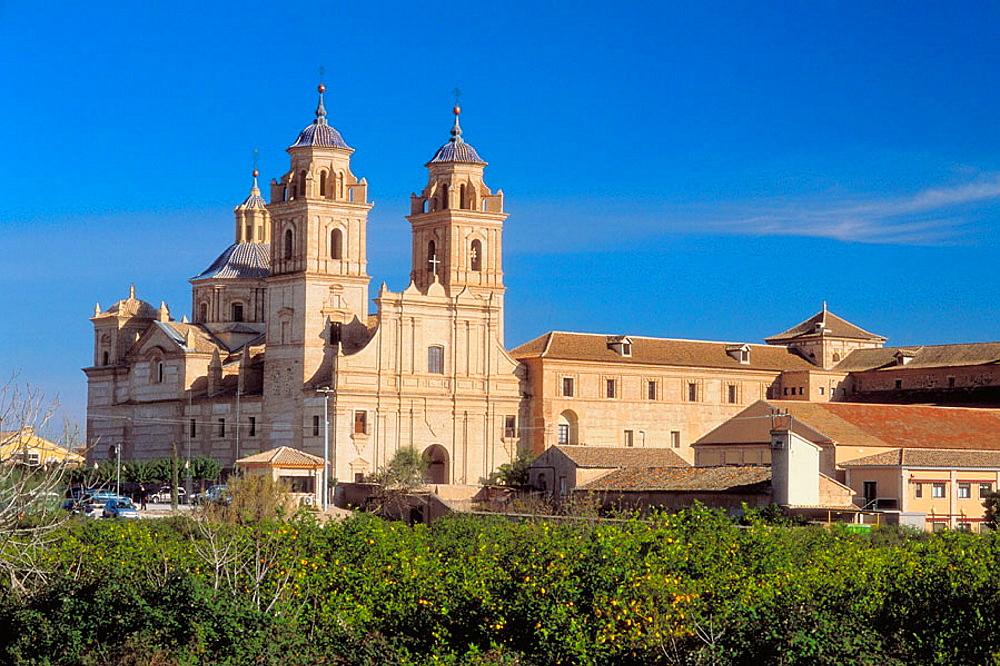 Guadalupe, Jeronimos monastery, XVIIth century, Murcia province, Spain.