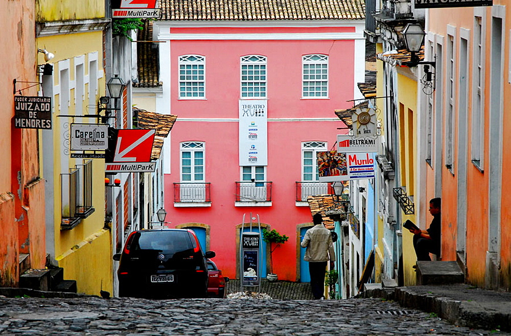 Historic quarter of Pelourinho, Salvador da Bahia, Brazil - 817-172914
