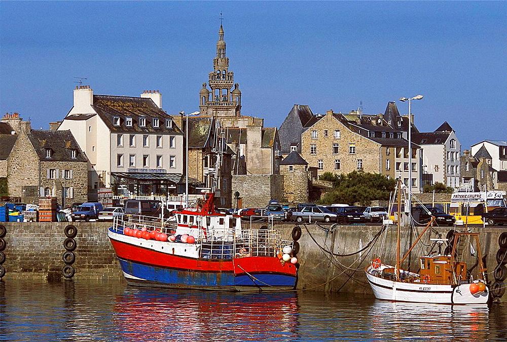 Port of Roscoff, Finistere, Bretagne, France