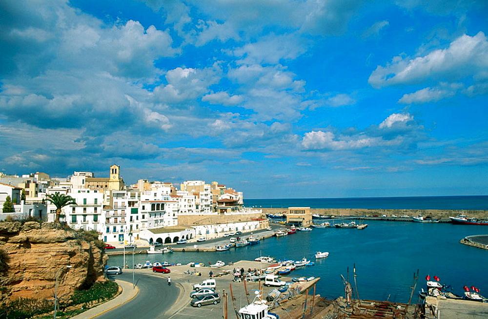 L'Ametlla de Mar port, Golden Coast, Tarragona province, Catalonia, Spain