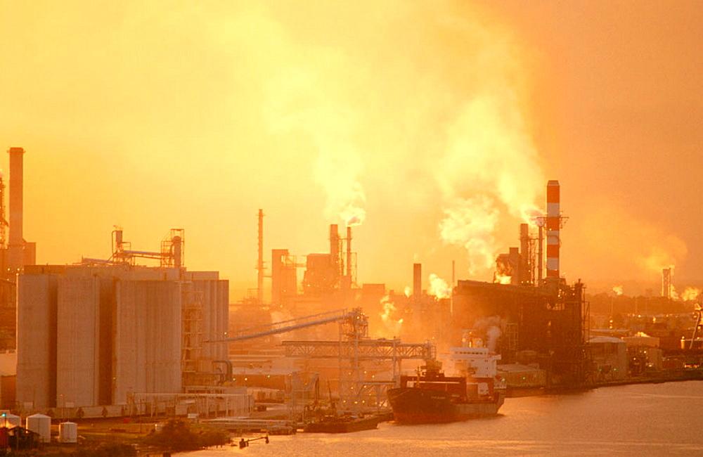 Industry in Savannah River, Georgia, USA