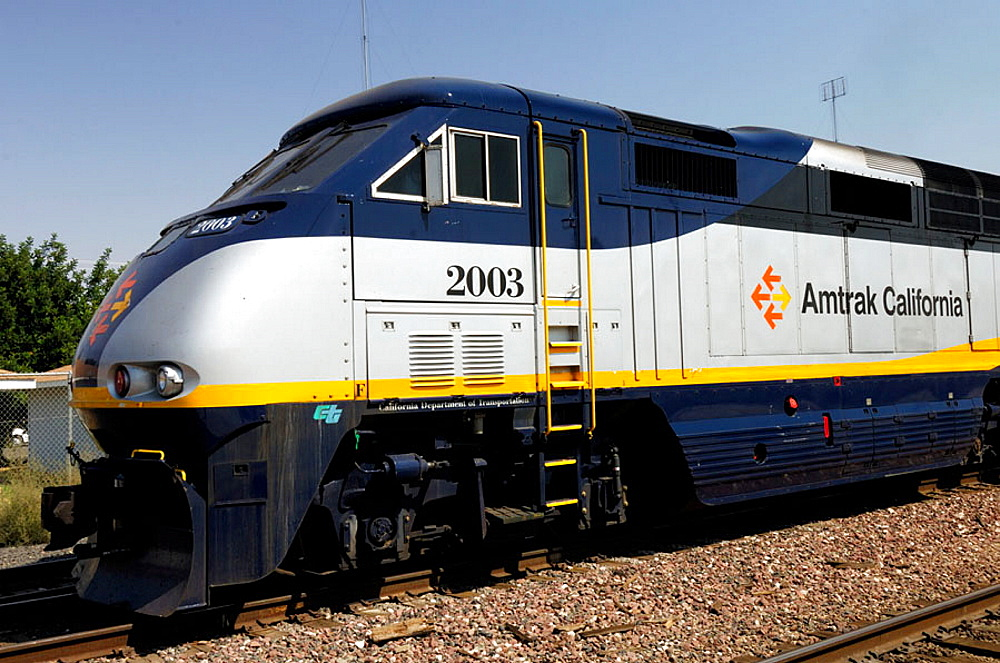 Train, Merced, California, USA