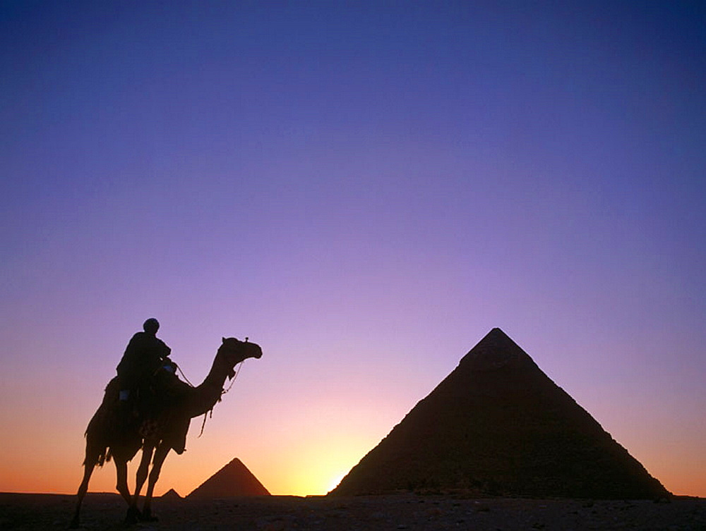 The Pyramids, Giza, Cairo, Egypt