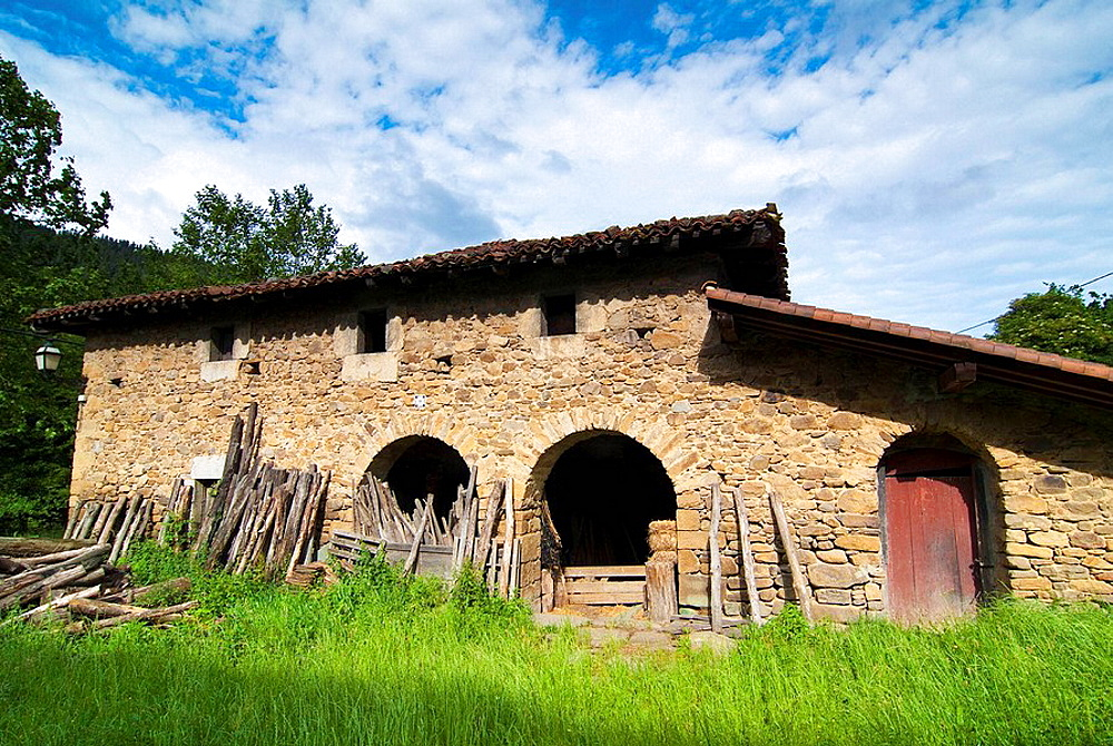 Farmhouse in Orozko, Vizcaya, Basque Country, Spain
