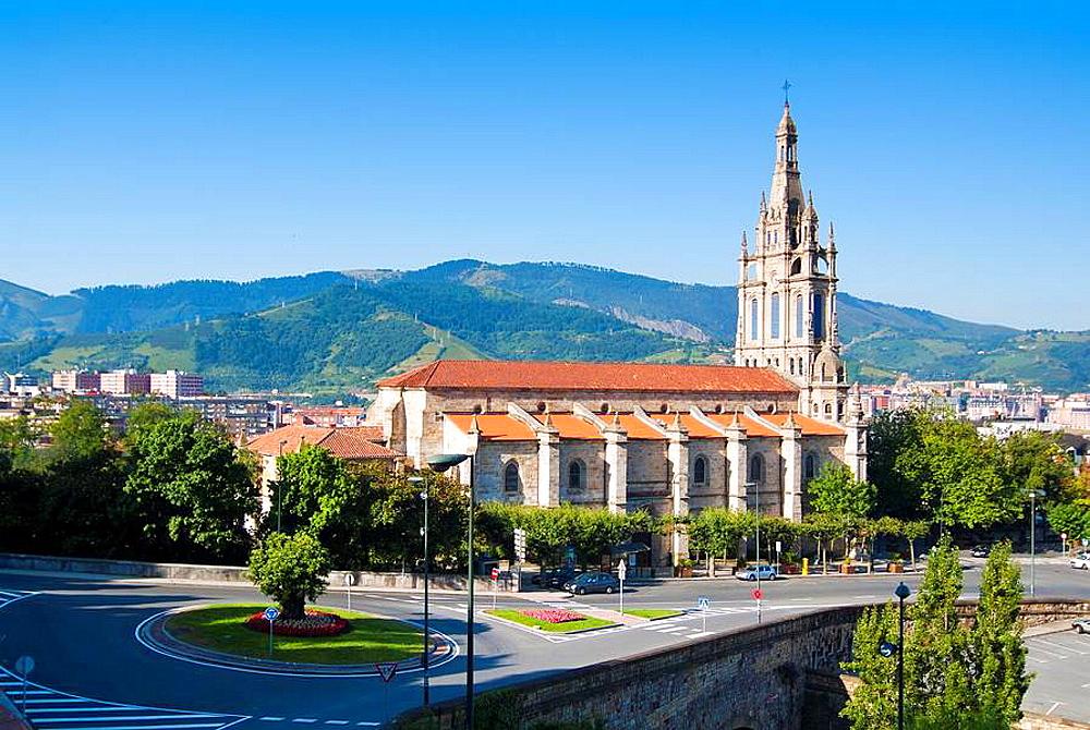 Basilica of Begona, Bibao, Vizcaya, Basque Country, Spain