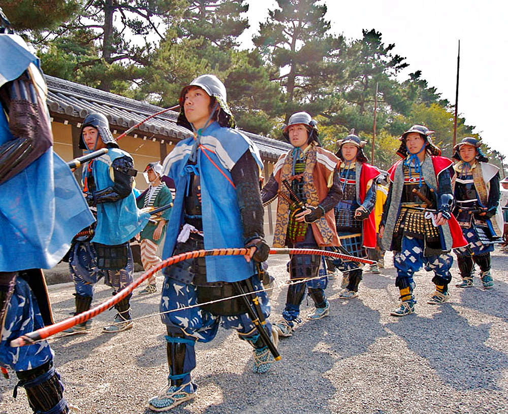 Kyoto Jidai Matsuri 06 (The Festival of the Ages) - A procession of soldiers - 817-183387