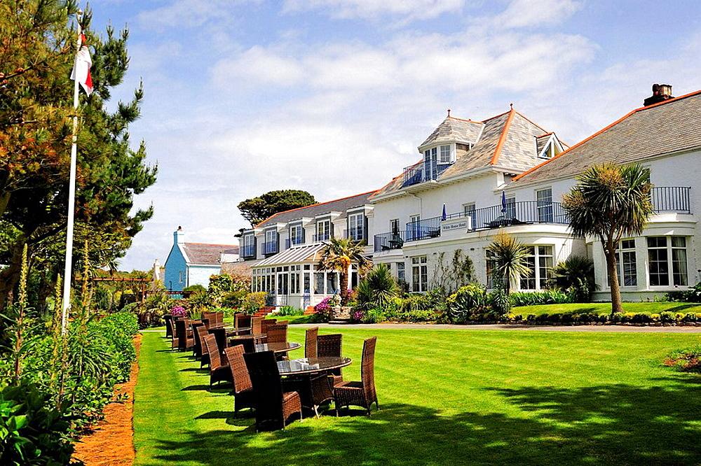 Hotel in Herm Island near Guernsey, Channel Islands, UK