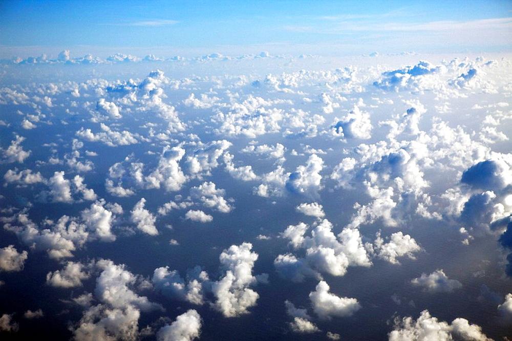 Cloudy Sky, Marshall Islands, Micronesia, Pacific Ocean