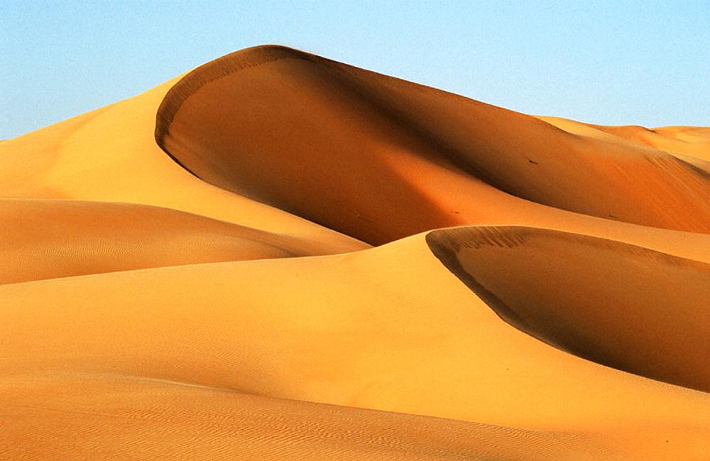 Liwa oasis in the desert, UAE (April, 2005)