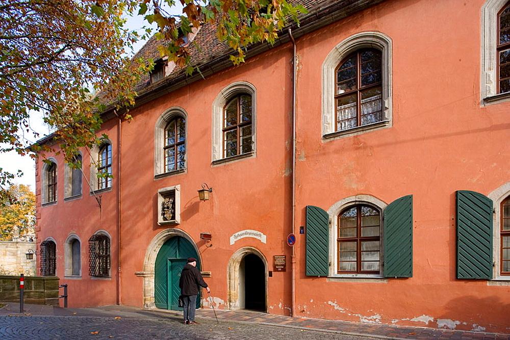 Bamberg, Bavaria, Germany, world cultural heritage, Architecture, Schloss Geyerswort, 1580, Erasmus Braun, Renaissance