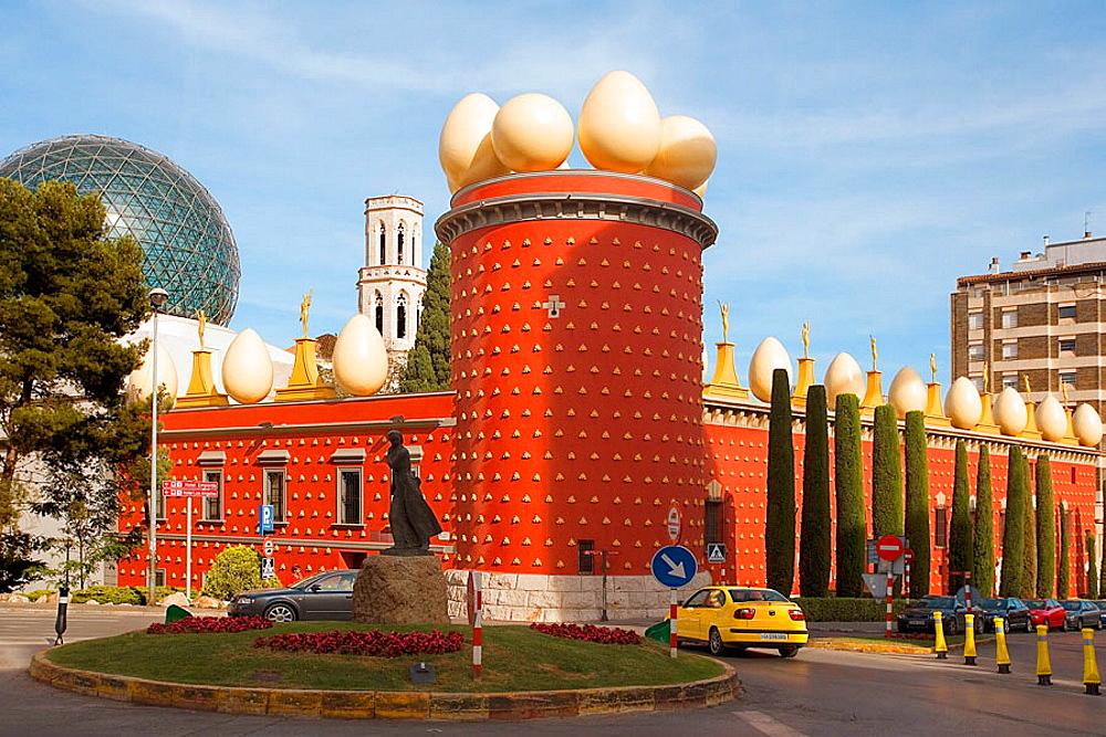 Dali's Theatre Museum, Figueres, Catalonia, Spain.