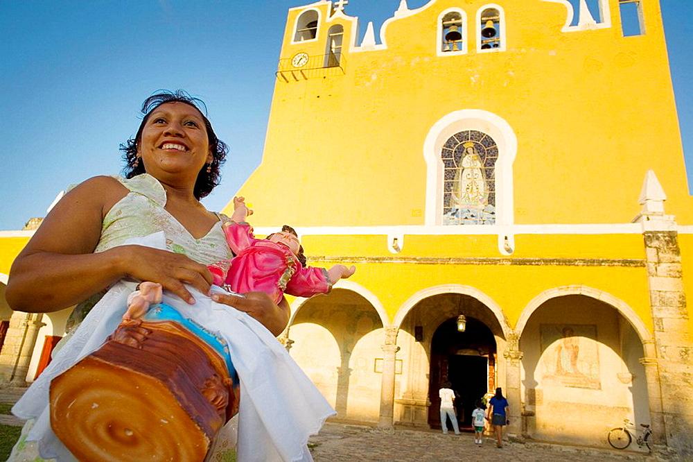 Convento San Antonio de Padua SXVI,Izamal,Mexico - 817-192750