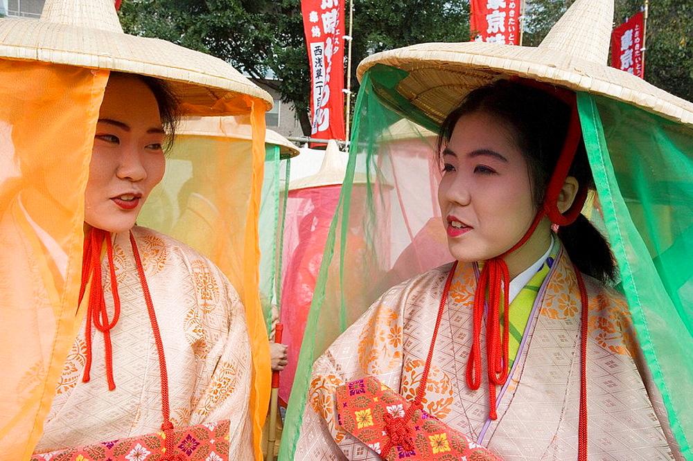 Nov.2007, Japan, Tokyo City, Jidai Festival - 817-19469